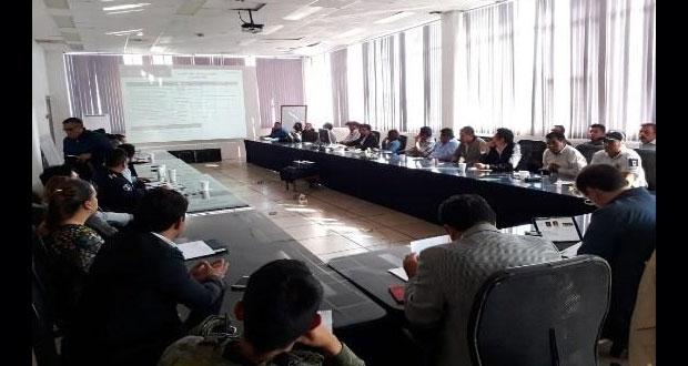 Suman 40 sesiones de Mesa de Seguridad y Justicia Regional