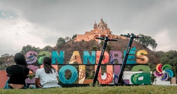 Servicio de scooters eléctricos llega a San Pedro y San Andrés Cholula