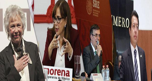Olga Sánchez, Ebrad y Polevsky irán a toma de protesta de Barbosa