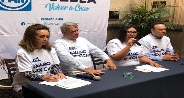 PAN niega que sea capricho defender concesión de Agua de Puebla