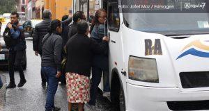 Asaltos no subirán por cambio de ruta del transporte público en CH: Rivera
