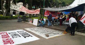 CNTE exige a Esparza atender a rechazados y no intimidar a alumnos