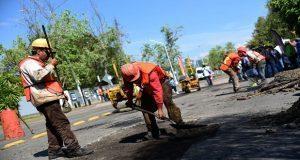 """Comienza programa de mantenimiento asfáltico """"El Bachero"""" en Puebla"""