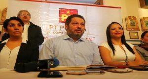 PT impugnará anulación de elección en Tepeojuma y validación en Ahuazotepec