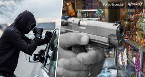 Únicamente baja 1.1% y 2.3% los robos a vehículos y a negocio en Puebla