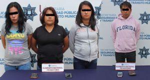 Detienen a cuatro por robo a ruta 6 y Angelópolis Nueva Visión