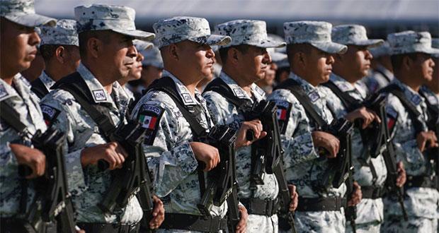 Tendrá Puebla nueve polígonos de la Guardia Nacional, indica Barbosa