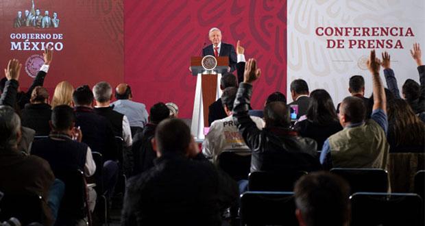 AMLO prevé que firme pronto un acuerdo sobre gasoductos parados