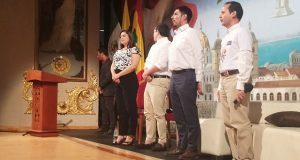 Acude Rivera a Cartagena de Indias para compartir agenda