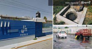 Agua de Puebla cobra tarifa industrial a UPN y le clausura el drenaje un año