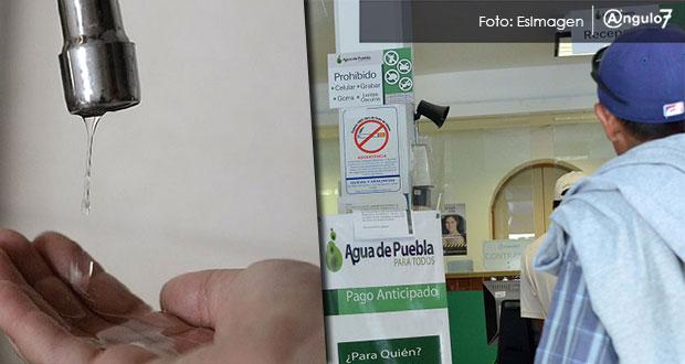 Agua de Puebla te cobra servicio y adeudo ajeno en la 10 de Mayo, alertan