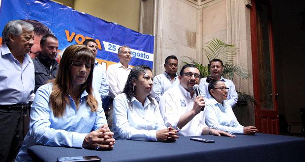 Alcántara afirma que no usará el PAN para obtener un cargo en 2021