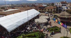 Alianza Felicidad inicia en Chignahuapan con entrega de 2 mil tinacos