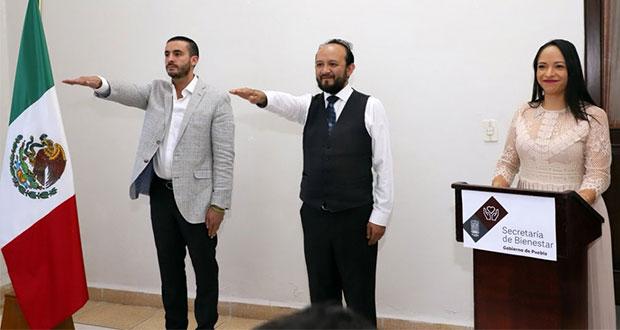 Antonio López y David Mendoza, nuevos subsecretarios de Bienestar