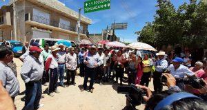 Antorcha apoya exigencias para mejorar carretera Acatlán–Boquerón