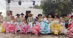 Antorcha lleva grupo cultural a fiesta patronal en Tepeojuma