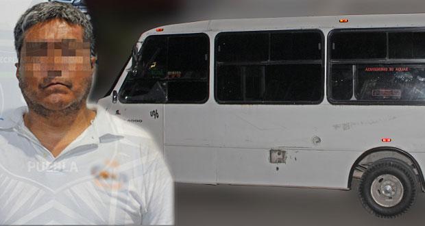 Antorcha se deslinda de chofer de ruta 25 acusado de violación