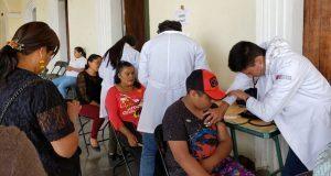 Ayuntamiento de Tepexi de Rodríguez impulsa jornada médica