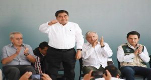 Puebla sigue los pasos de la 4T para salir del atraso y pobreza: Barbosa
