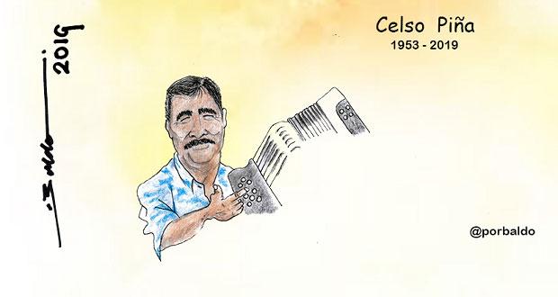 Caricatura: Adiós rebelde del acordeón