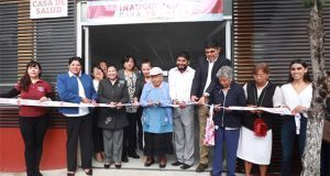 Inauguran sexta Casa de Salud en la colonia Concepción la Cruz