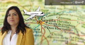 Claudia Rivera viajaría el 16 de septiembre a Sevilla para foro de alcaldes