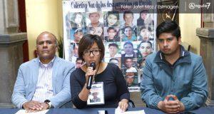 FGE sólo registra el 25% de los desaparecidos en Puebla: colectivo