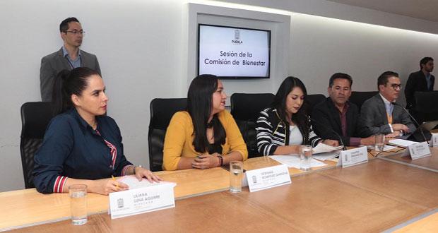 Avanzan en Congreso de Puebla reformas para combatir rezago social