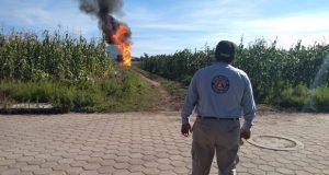 Continúan los trabajos para sellar fuga de gas LP