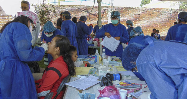 DIF de Cuautlancingo realiza jornada de salud bucal