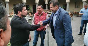 Diputados de Puebla y Armenta se reúnen por presupuesto de 2020