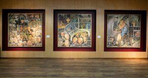 Exhiben obras, entre ellas de Diego Rivera, incautadas a Gordillo