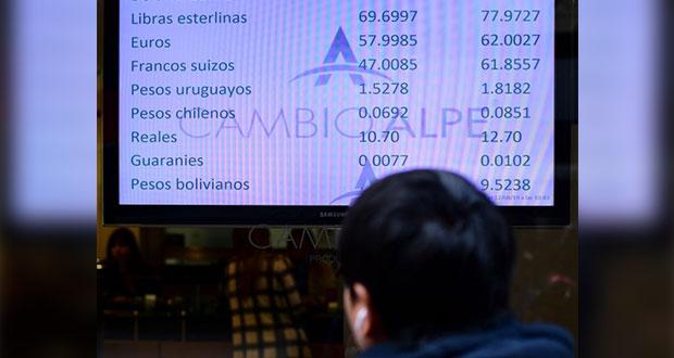 Elecciones argentinas derrumban su economía; dólar sobre los 61 pesos