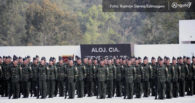 En Puebla, 550 sargentos recibirán especialización en seguridad pública