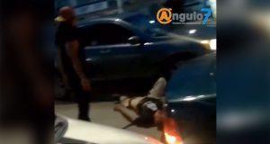 FGE busca a responsables de agredir a chofer en la Puebla-Amozoc