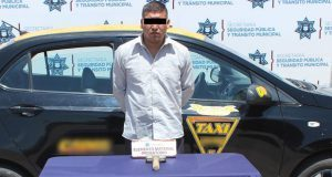 Detuvo Ssptm de Puebla a hombre por robo a casa de empeño