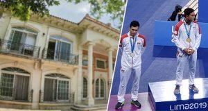 Financiarán becas a deportistas con subasta de casa de Zhenli Ye Gon