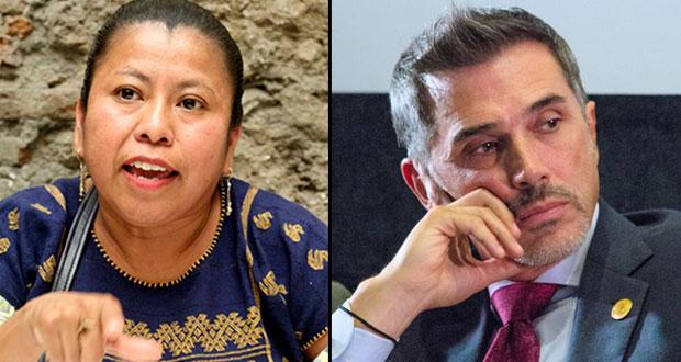 Diputada morenista a Mayer de cobrar moches por recursos a proyectos