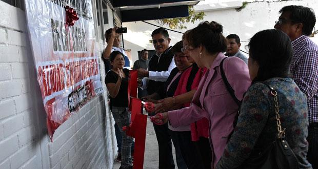 Inauguran módulos sanitarios en secundaria de Ixcaquixtla