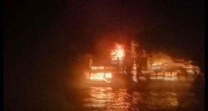 Incendio en ferry con 150 tripulantes en Filipinas deja 3 muertos