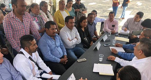 Infraestructura considerará peticiones de obras en juntas auxiliares