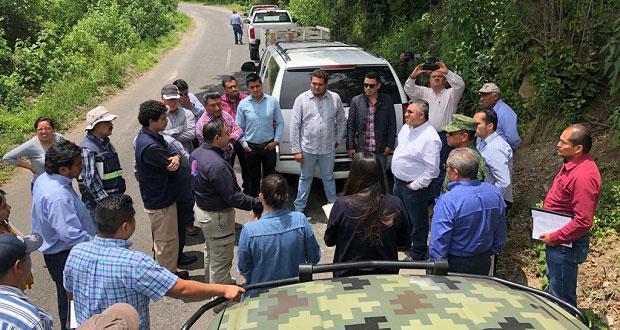 Infraestructura planea modernizar rutas de evacuación del Popocatépetl