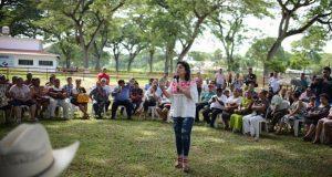 Ivonne Ortega se compromete a terminar con imposiciones en PRI