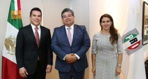 Llega Javier Casique al CEN del PRI como secretario electoral