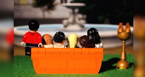"""Lego tendrá colección inspirada en la serie noventera """"Friends"""""""