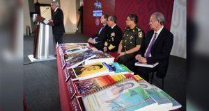 Libros de texto llegarán a tiempo: AMLO; SEP destaca apoyo de Puebla