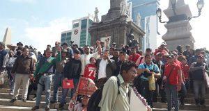 Marcha 28 de Octubre en CDMX contra base policíaca en Mercado Unión