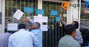 ONGs clausuran simbólicamente Agua de Puebla y exigen renuncia de director