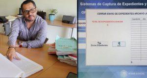 Poder Judicial crea sistema electrónico para revisión de expedientes