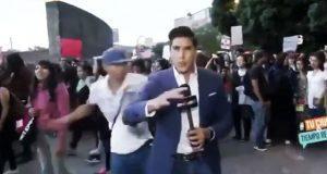Reportero golpeado durante marcha feminista de CDMX irá a cirugía